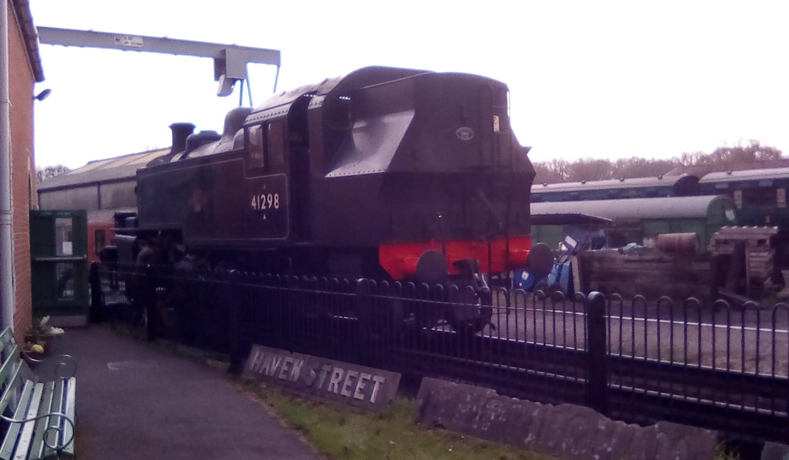 Standard Class 2 2-6-2 41298.