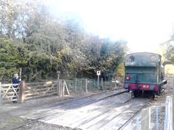 Saddle Tank 813 at Shenton