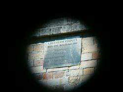 Chelfham viaduct plaque