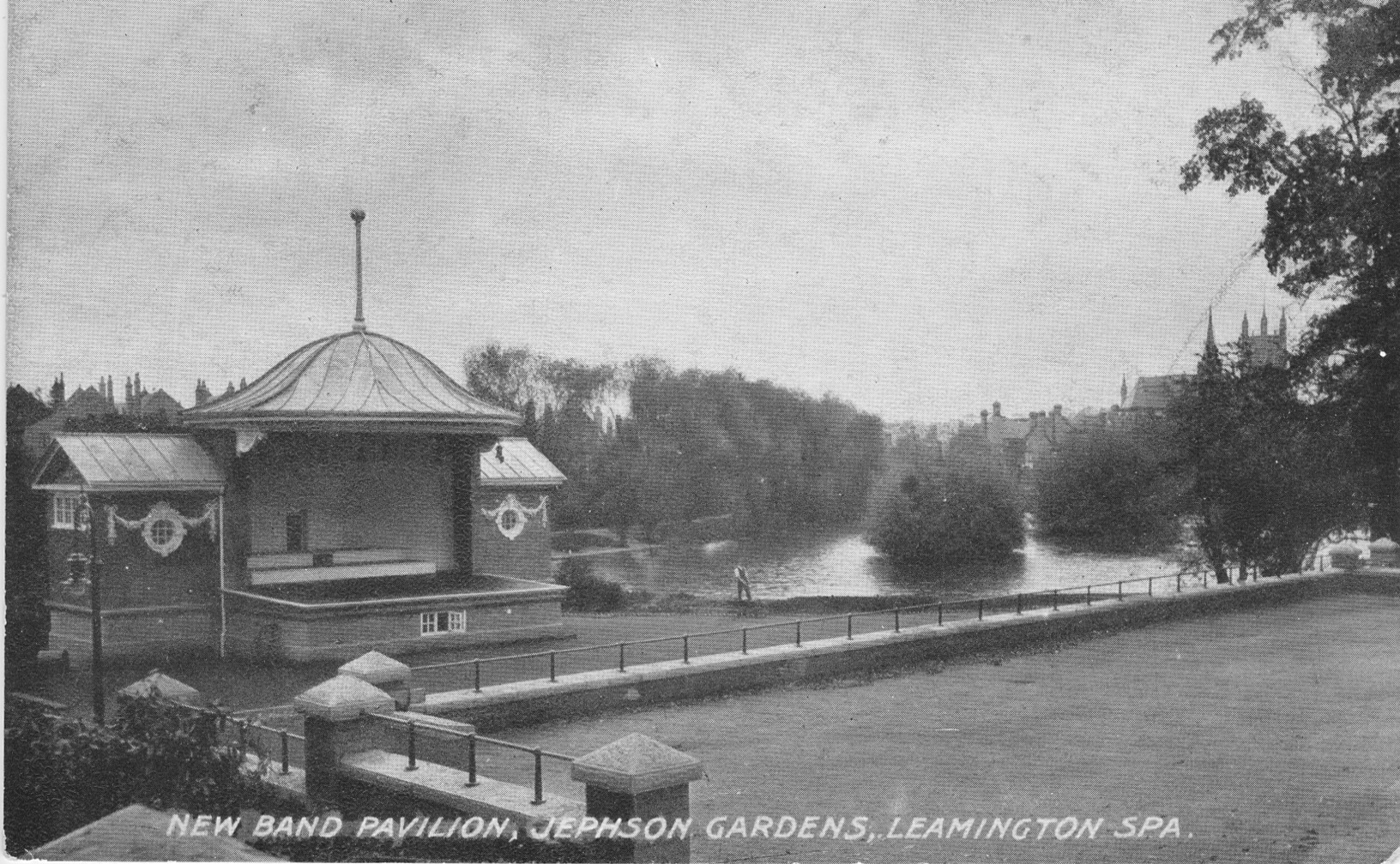 The Pavilion, Jephson Gardens