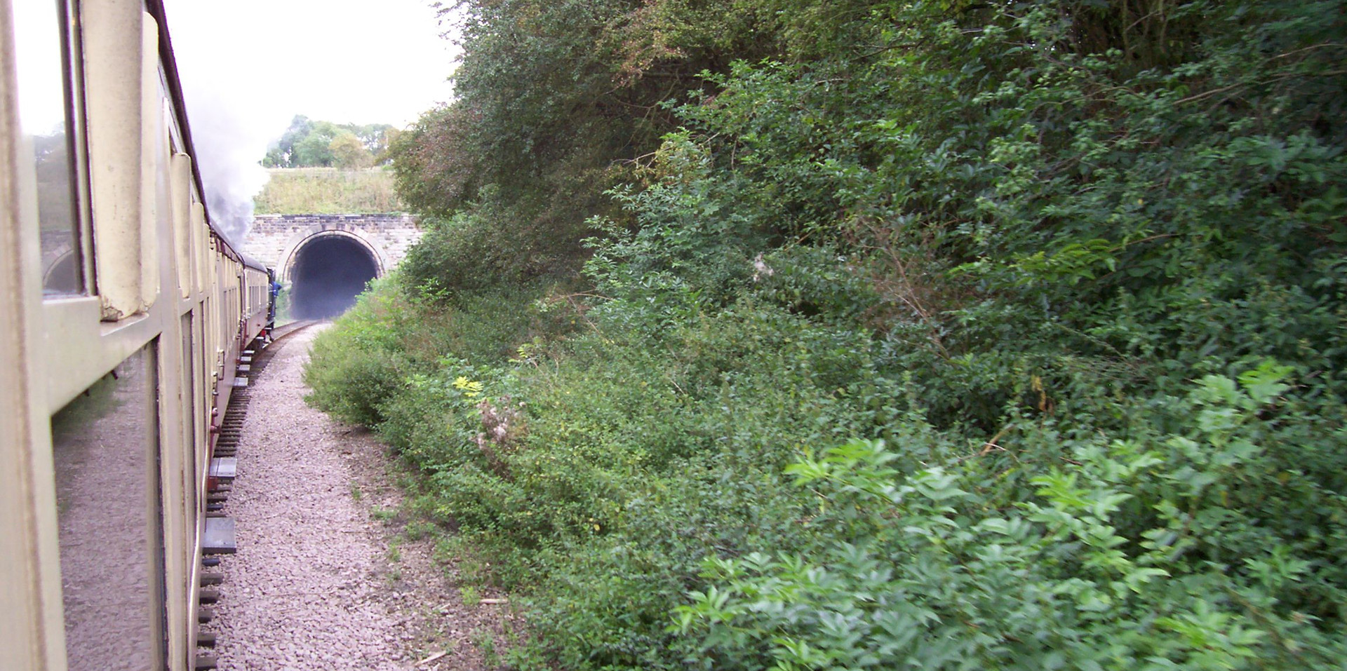 Approach to Wansford Tunnel
