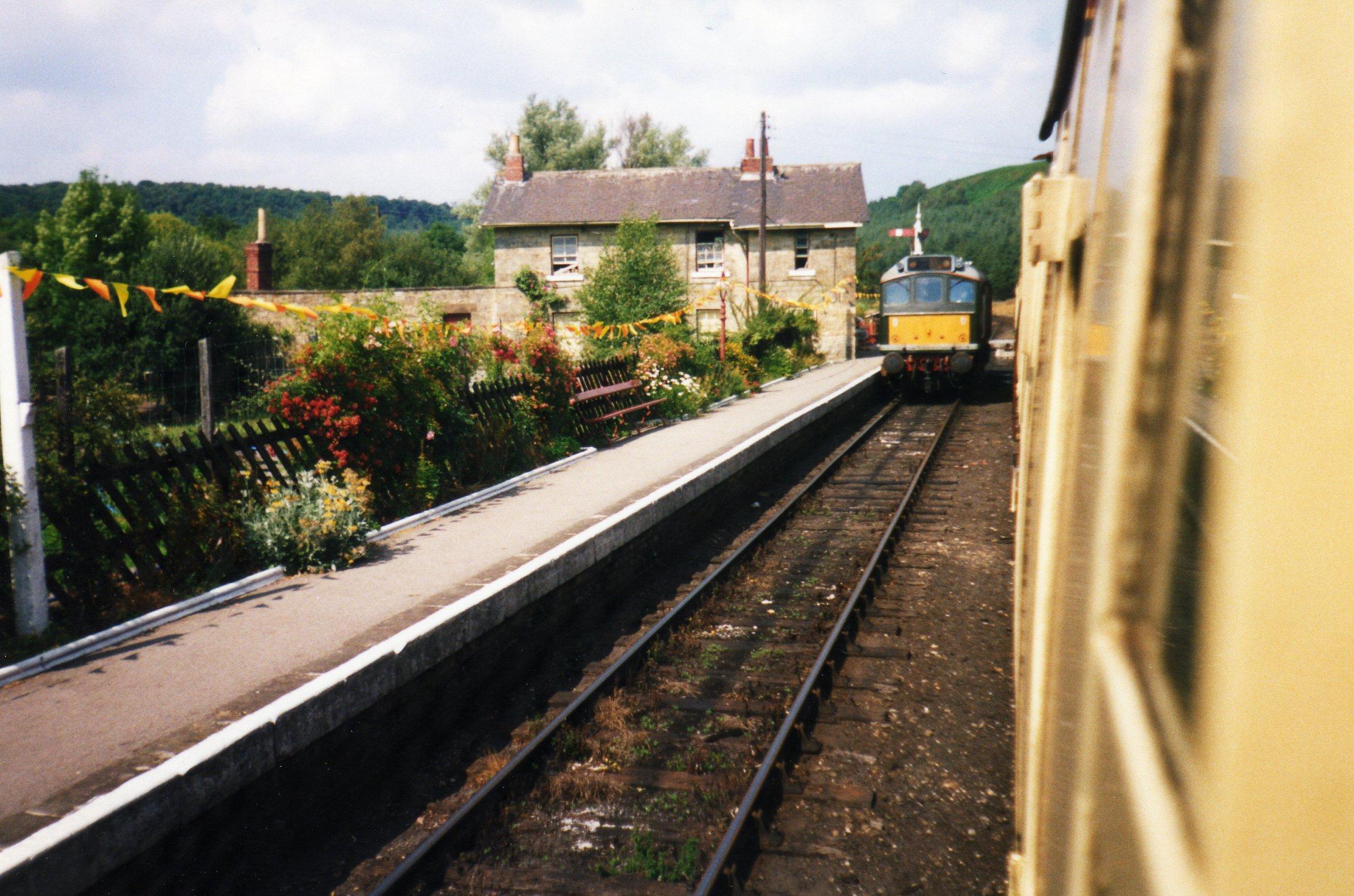 Diesel engine passing Levisham