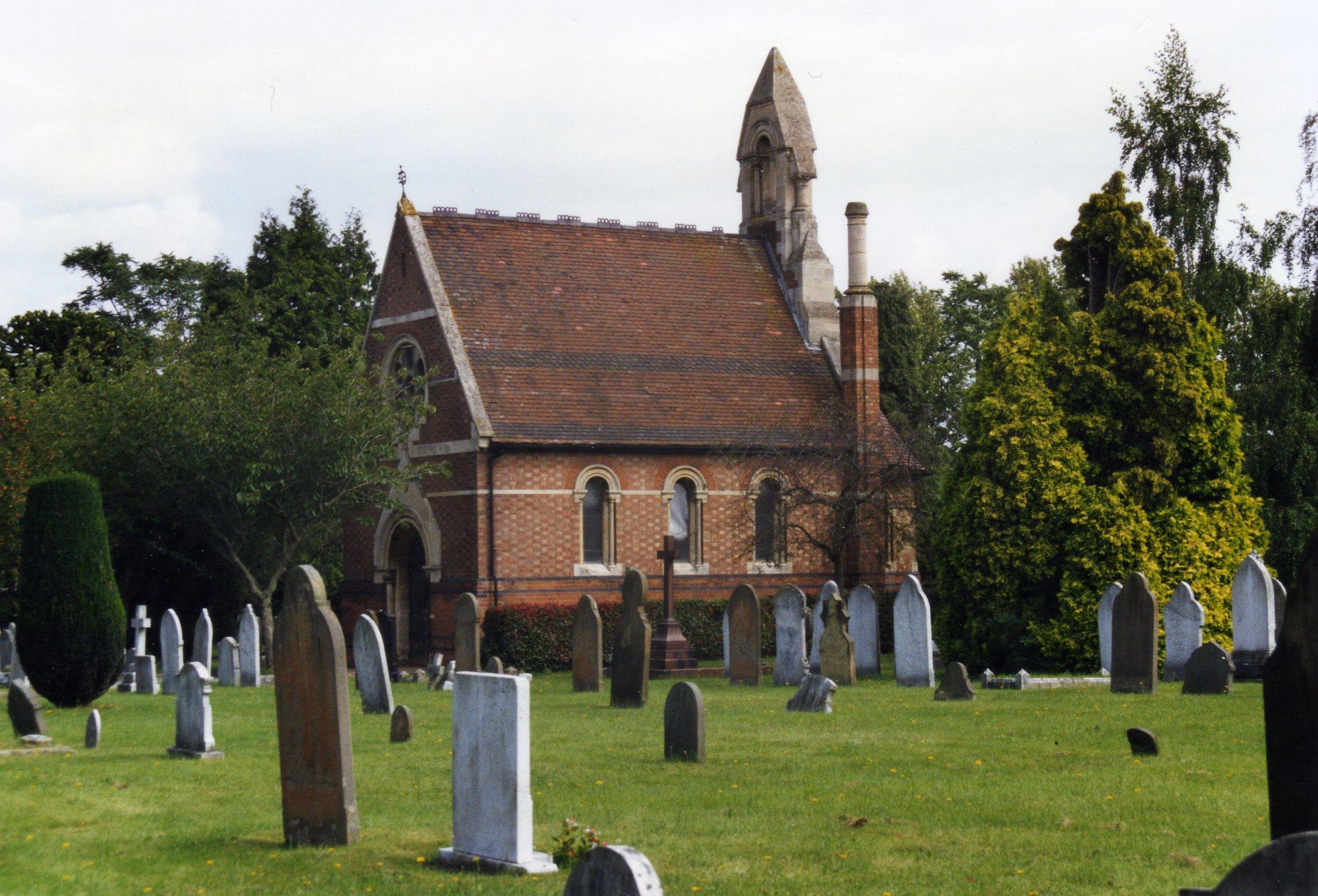 Chapel, Brunswick St. Cemetery