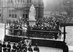 Unveiling of Queen Victoria's Statue