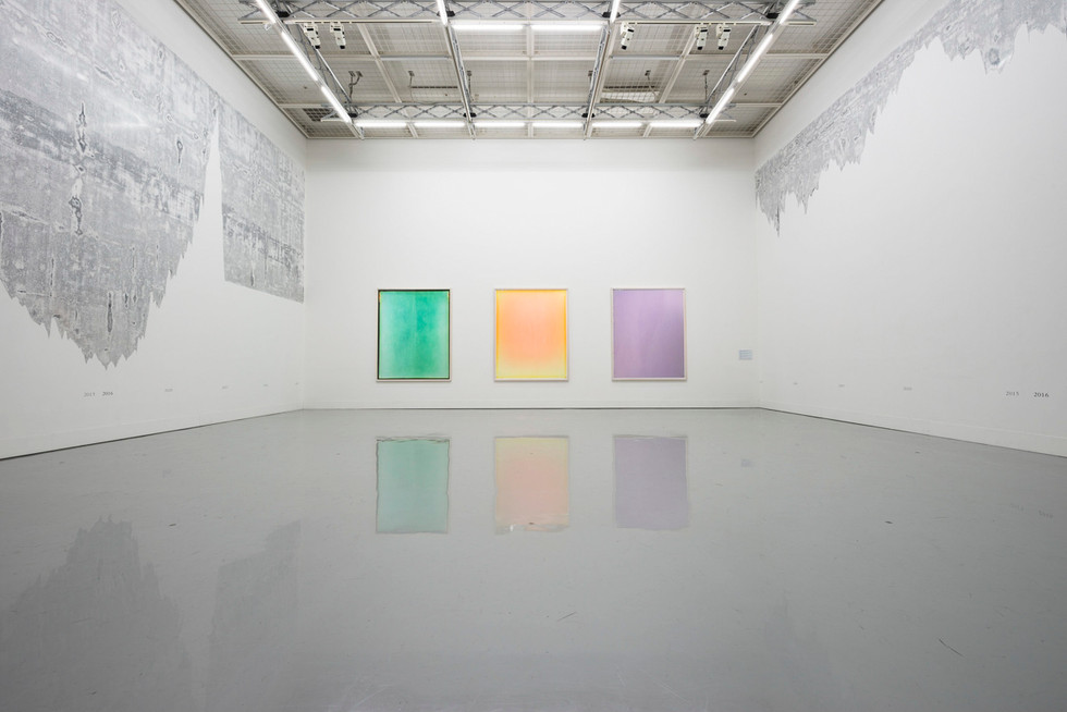 If the radiance of a thousand suns were to burstat once into the sky (installation view)
