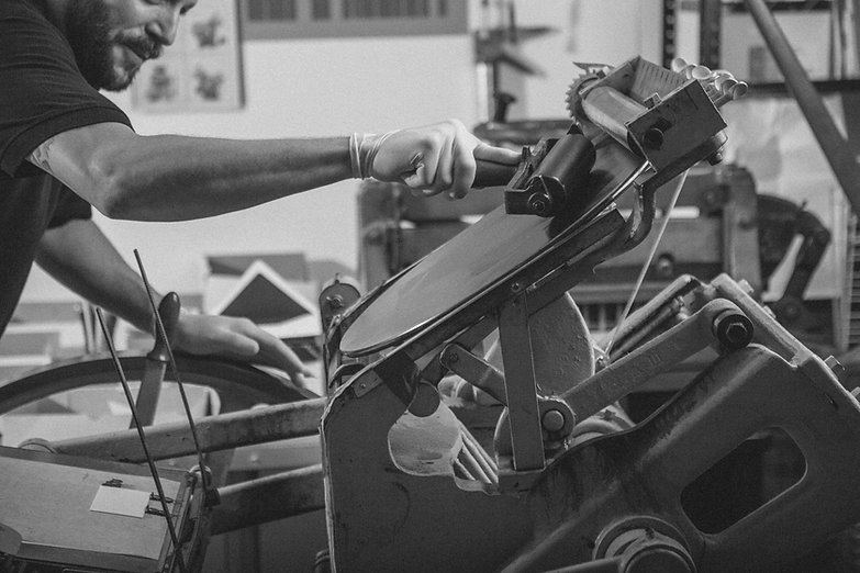 Inking of printing press
