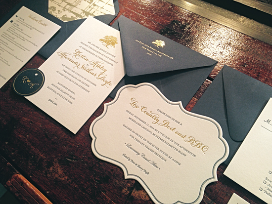 Die-cut Invitations and Tags