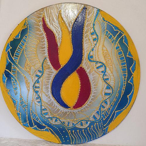Mandala de la LLama Trina
