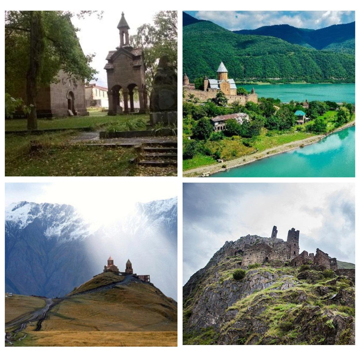 Tbilisi,Ananuri,Kazbegi