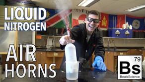 Liquid Nitrogen Air Horns