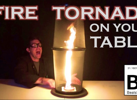 Fire Tornado on Your Tabletop