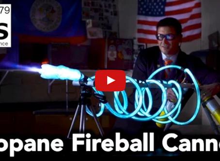 Propane Fireball Cannon