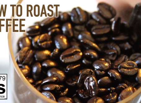 How to Roast Your Own Coffee Beans