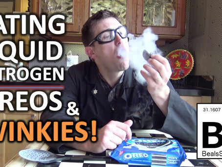 Liquid Nitrogen Oreos and Twinkies