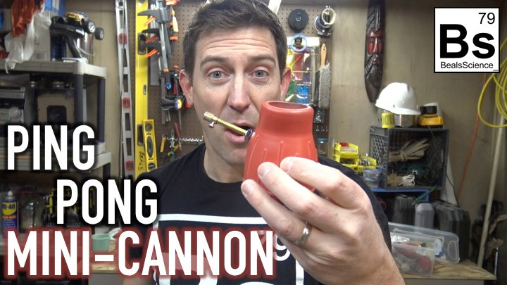 Ping Pong Ball Cannon - How To