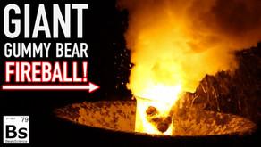 Giant Gummy Bear Fireball