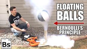 Magic Floating Balls - Bernoulli's Principle and the Coanda Effect Explained