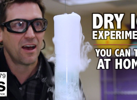 Dry Ice Experiments You Can Try at Home