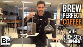 Brew Perfect Coffee with Chemistry Equipment