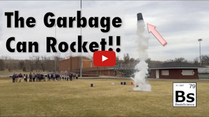 "Click the link to watch ""Garbage Can Rocket with Liquid Nitrogen"" on YouTube: http://youtu.be/Y6PhVCFCLqU"