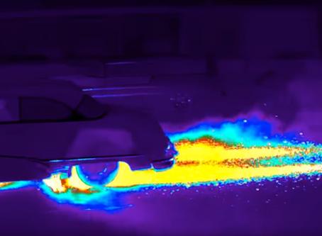 Burning Rubber - 800 Horsepower Buick Does Massive Burnout!