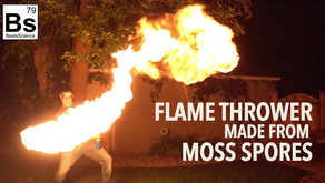 Flame Thrower - Made with Moss Spores