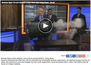 Click to watch the Science Spot on CBS (KTVQ)