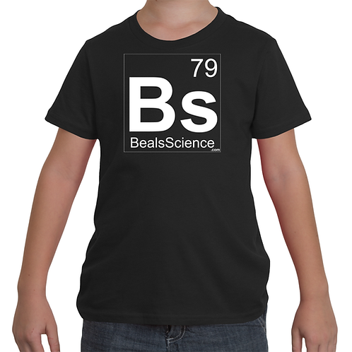 Youth Beals Science Logo T-Shirt