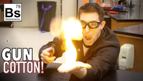 Gun Cotton Fireball - Nitrocellulose Explained
