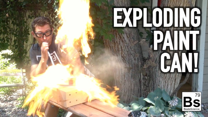 Learn how to perform a demonstration to show a dust explosion.