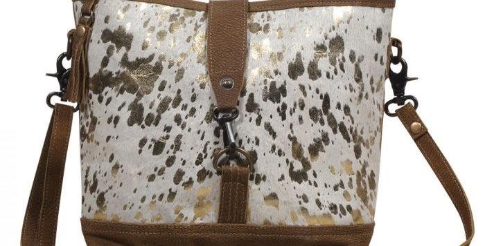 Shiny one Leather & Hairon Bag