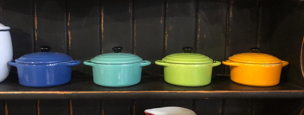 Small Colored Pot