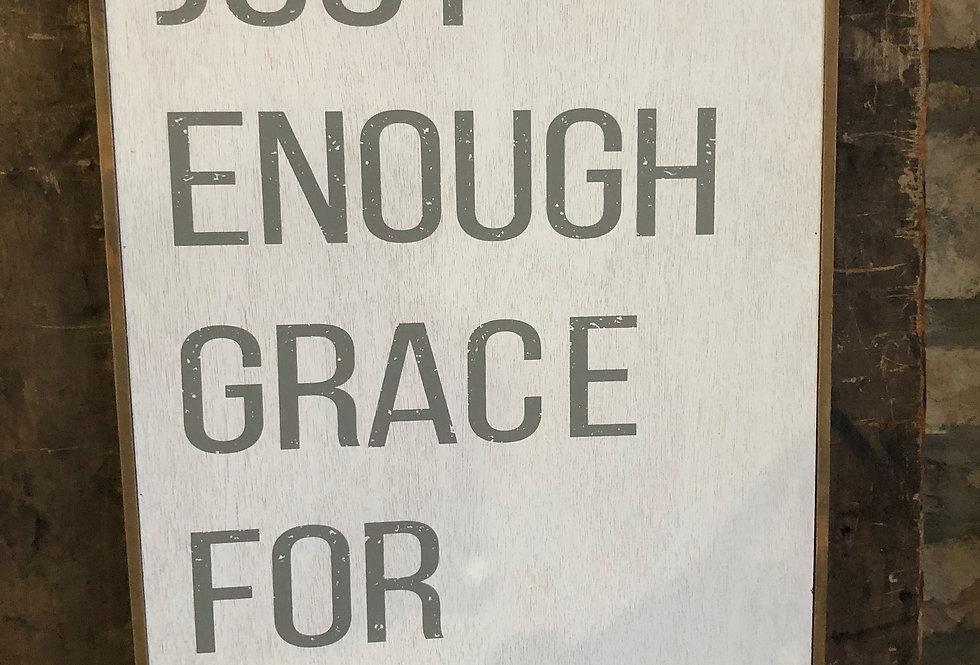 Grace Wood Sign
