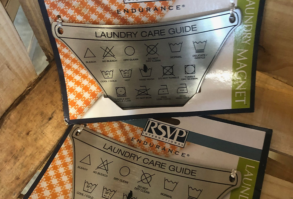 Laundry Care Magnet