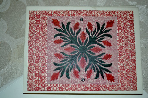 Hawaiian Quilt Card Set   Item #1320