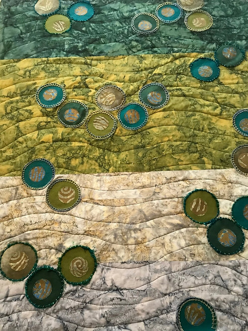 Floating - Japanese Fishing Floats Quilt