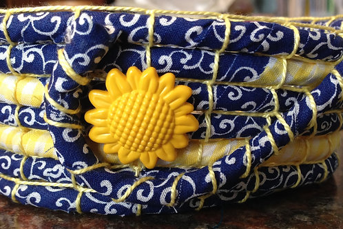 Sunny Fabric Bowl