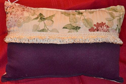 Hydrangea / Purple Pillow Item #1336