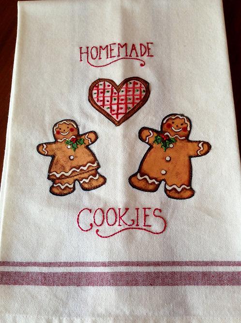 Homemade Cookies Tea Towel Item #1411