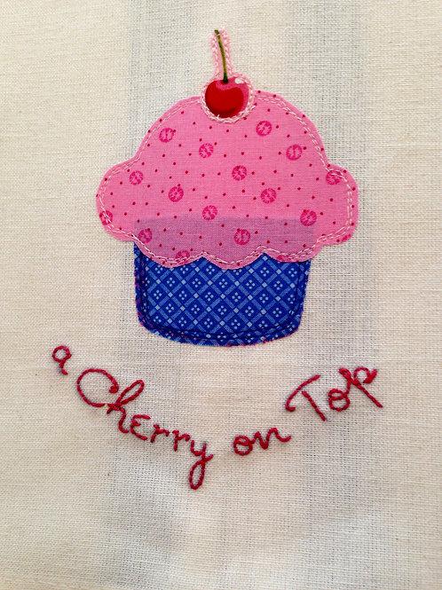 Cupcake Tea Towel  Item #1413
