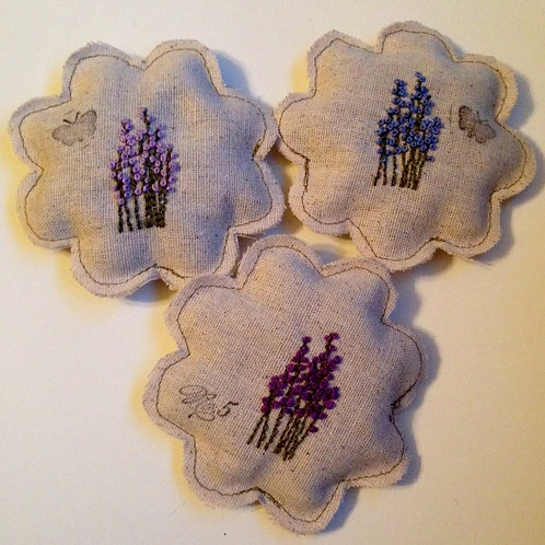 Lavender Sachet filled with Lavender - Multi Color