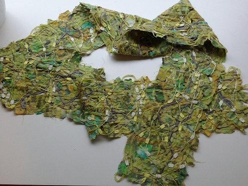 Lemon Lime Bits & Pieces Scarf