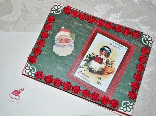 Santa Postcard  Item #1321