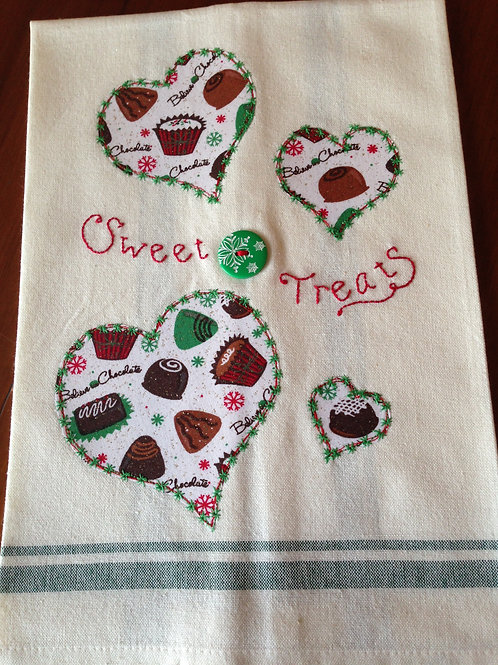 Sweet Treats Tea Towel Item #1408
