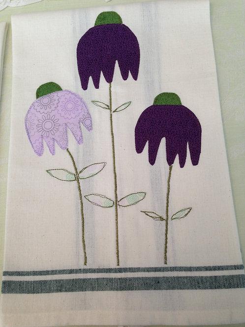 Coneflowers Tea Towel  Item #1412