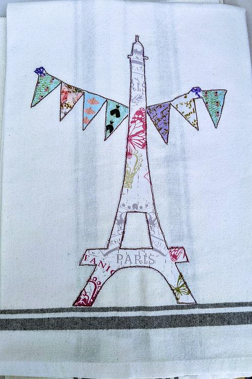 Eiffel Tower Tea Towel  Item #1416