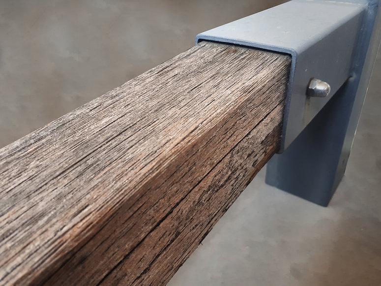 riparazione ombrellone in legno