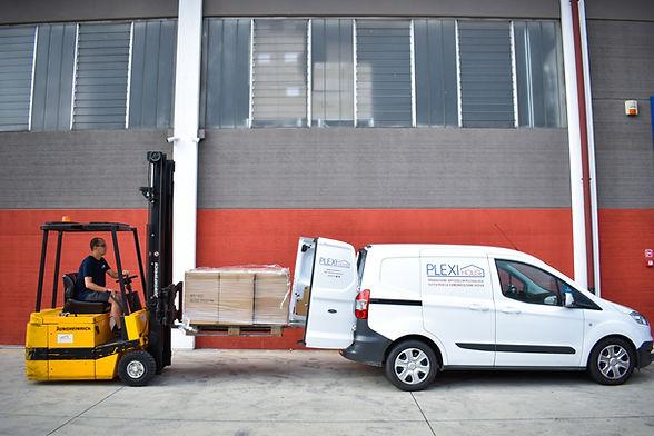 Plexihouse servizio consegna