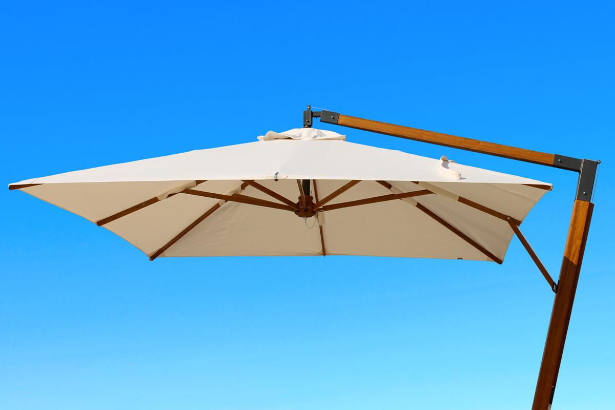 San Francisco: ombrellone da giardino con struttura laterale