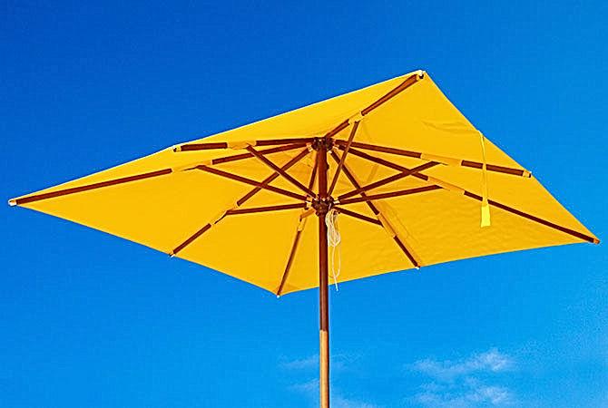 Produzione ombrelloni artigianali made in italy